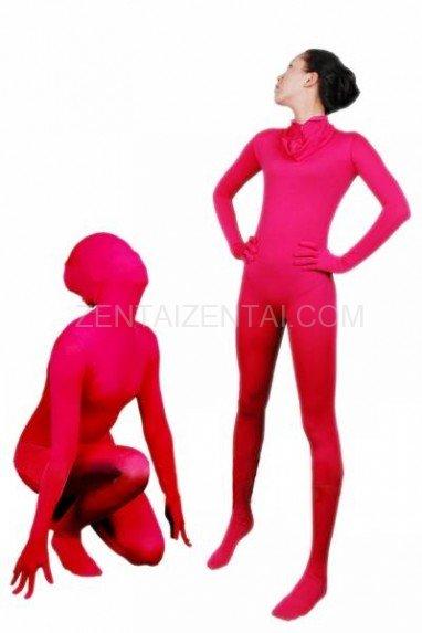 Superior Suitable Suitable Red Lycra Spandex Unisex Morph Zentai Suit