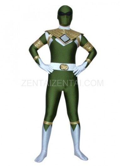 Green Lycra Spandex Morph Zentai Costume