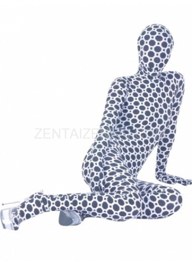 Sexy Flower Lycra Spandex Unisex Morph Zentai Suit