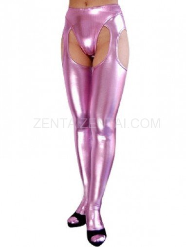 Pink Shiny Metallic Sexy Bumbum Costume(G-string&Bumbum Trousers)