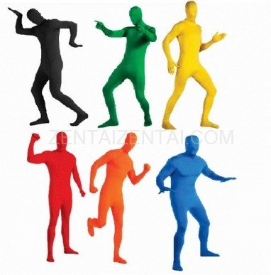 Free Tailor-made Fullbody Unisex Tights Suits Catsuits  Unicolor Fullbody Full Body  Morph Zentai Suits