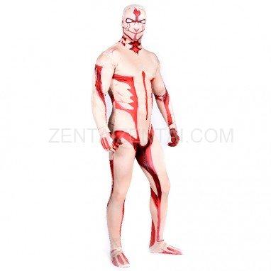 Armor Giant Full Body Halloween Spandex Holiday Unisex Cosplay Zentai Suit