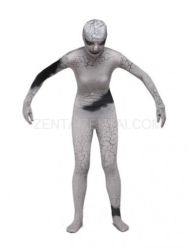 Scary Catoon Full Body Halloween Spandex Holiday Unisex Cosplay Zentai Suit