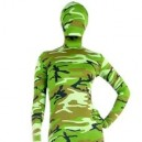 Fullbody Full Body Green Soldier Camouflage Morph Zentai suit