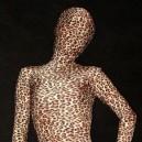 Fullbody Full Body Leopard Print Lycra Spandex  Morph Zentai Suit