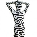 Supply Fullbody Full Body Zebra Pattern Spandex  Morph Zentai Suit