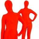 Unicolor Fullbody Full Body Red Spandex Morph Zentai Suit
