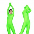 Supply Green Lycra Spandex Unisex Morph Zentai Suit