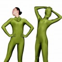 Supply Perfect Unicolor Fullbody Full Body Army Green Lycra Spandex Unisex Morph Zentai Suit