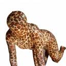 Leopard Lycra Spandex Unisex Morph Zentai Suit