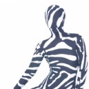 Sexy Zebra Lycra Morph Zentai Suit