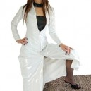 Supply Classic White PVC Cape