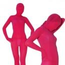 Ideal Red Plum Velvet Unisex Morph Zentai Suit