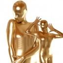 Gold Shiny Metallic Catsuit