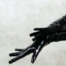 ZENTAI Black PVC Gloves