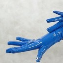 ZENTAI Blue PVC Gloves