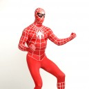 Supply Red Spiderman Super Hero Full Body Spandex Holiday Unisex Lycra Morph Zentai Suit