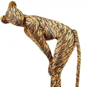 Fullbody Full Body Tiger Pattern Spandex Morph Zentai Suit