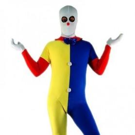 Clown Lycra Spandex Unisex Morph Zentai Suit