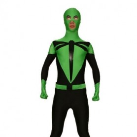Green And Black Dargonfly Lycra Spandex Morph Zentai Suit