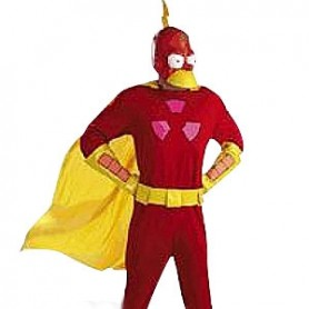 Simpson Lycra Super Hero Costume
