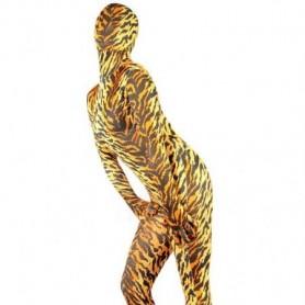 Tiger Lycra Spandex Unisex Morph Zentai Catsuit