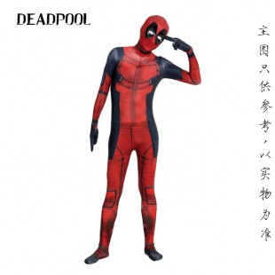 Deadpool Halloween Full Body Spandex Holiday Unisex Lycra Morph Zentai Suit