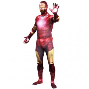 Iron Man Full Body Halloween Spandex Holiday Unisex Cosplay Zentai Suit