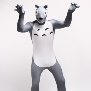 Monster Cartoon Full Body Halloween Spandex Holiday Unisex Cosplay Zentai Suit