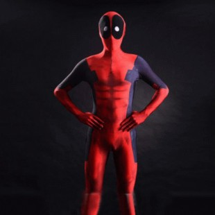 3D Printing Spandex Dealpool Costume Halloween Costume