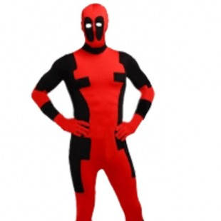 Dealpool Spandex Deadpool Costume Fullbody Suit