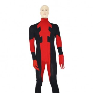 Red Deadpoo Ccostume Spandex Deadpool Cotume