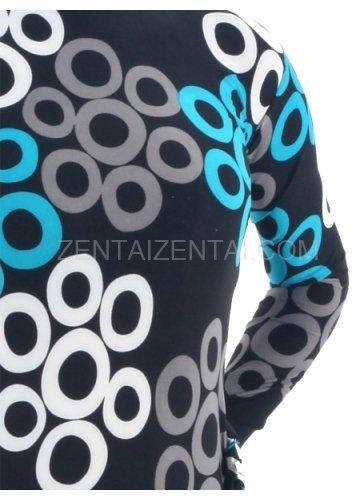 Colorful Lycra Spandex Breathable Unisex Morph Zentai Suit