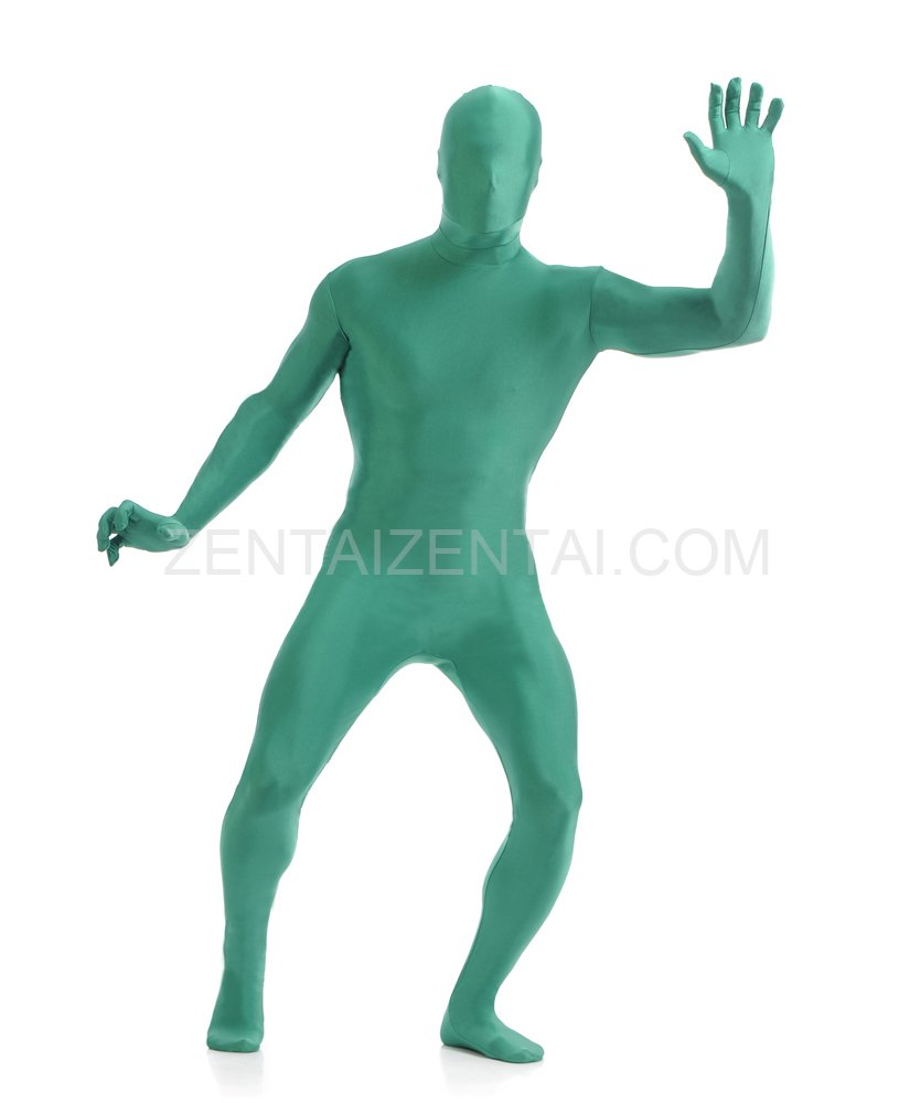 Lake Blue Full Body Spandex Holiday Unisex Lycra Morph Zentai Suit