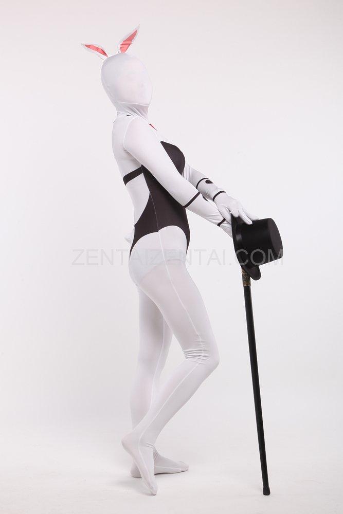 Bonny Girl Cartoon Full Body Halloween Spandex Holiday Unisex Cosplay Zentai Suit